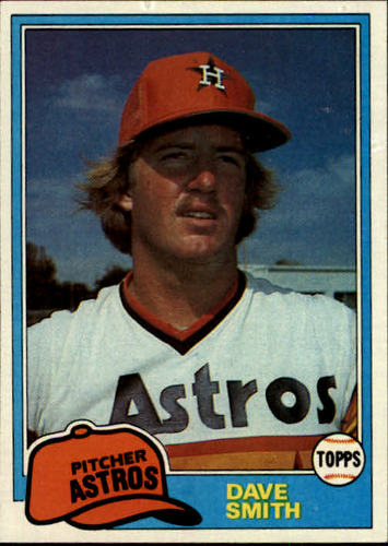 Photo of 1981 Topps #534 Dave Smith RC