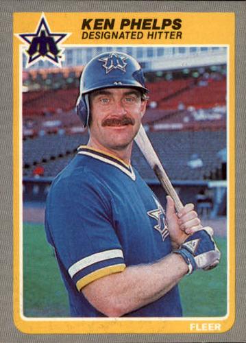 Photo of 1985 Fleer #499 Ken Phelps