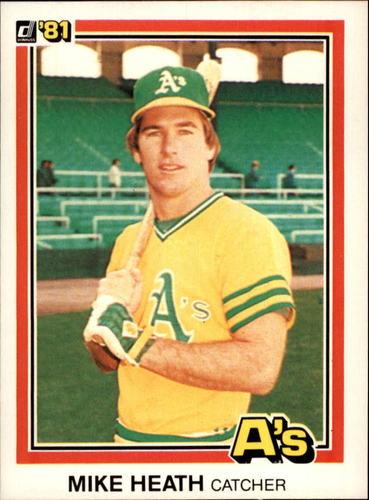 Photo of 1981 Donruss #120 Mike Heath