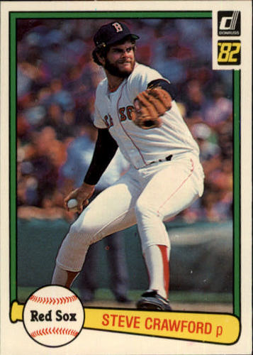 Photo of 1982 Donruss #564 Steve Crawford
