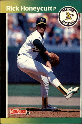 Photo of 1989 Donruss #328 Rick Honeycutt