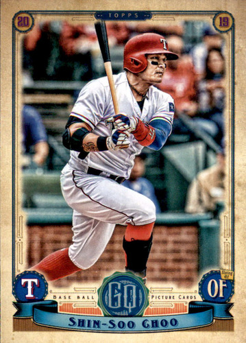 Photo of 2019 Topps Gypsy Queen #258 Shin-Soo Choo