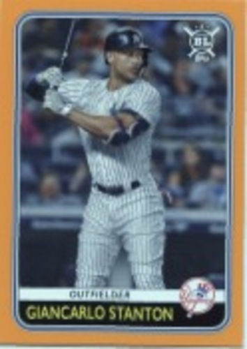 Photo of 2020 Topps Big League Orange #166 Giancarlo Stanton