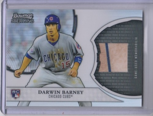 Photo of 2011 Bowman Sterling Rookie Relics #DB Darwin Barney