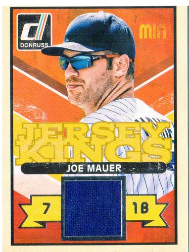 Photo of 2014 Donruss Jersey Kings #5 Joe Mauer