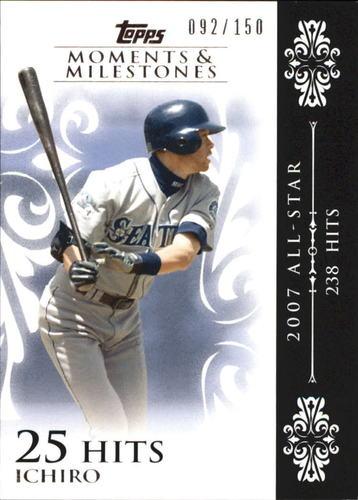 Photo of 2008 Topps Moments and Milestones #63-25 Ichiro Suzuki