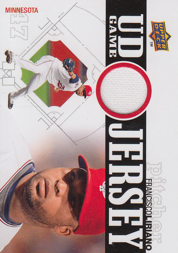 Photo of 2010 Upper Deck UD Game Jersey #FL Francisco Liriano