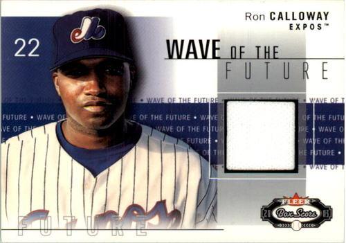 Photo of 2003 Fleer Box Score Wave of the Future Game Used #RR Ricardo Rodriguez Jsy