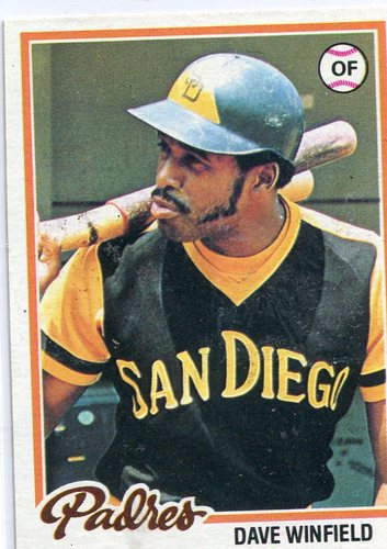 Photo of 1978 Topps #530 Dave Winfield -- Hall of Famer