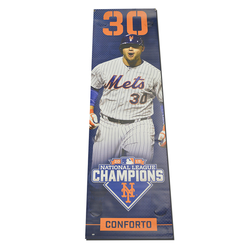 Photo of Michael Conforto - Citi Field Banner - 2016 Season