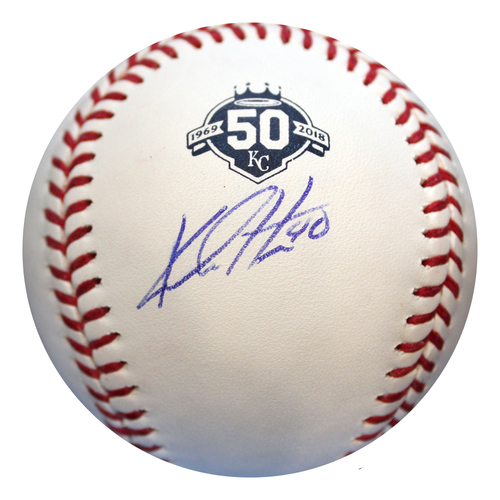 Photo of Autographed 50th Season Baseball: Kelvin Herrera