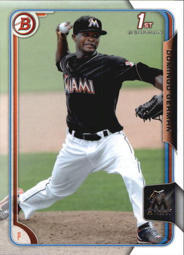 Photo of 2015 Bowman Prospects #BP118 Domingo German