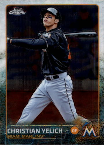 Photo of 2015 Topps Chrome #48 Christian Yelich