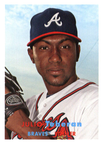 Photo of 2015 Topps Archives #4 Julio Teheran