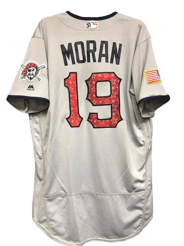 Photo of Colin Moran Game-Used Stars & Stripes Jersey