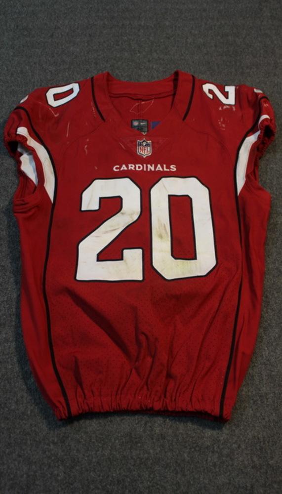 NFL Auction | London Games - Cardinals Deone Bucannon game worn ...