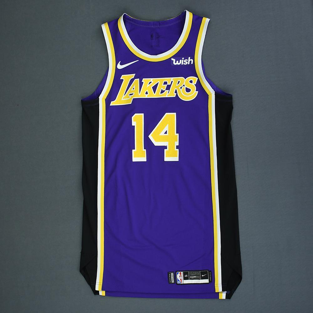 Brandon Ingram - Los Angeles Lakers - Game-Worn Statement Edition Jersey - 2018-19 Season
