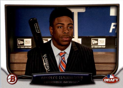 Photo of 2014 Bowman Draft Draft Night #DNMH Monte Harrison