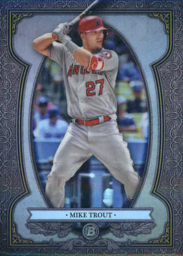 Photo of 2019 Bowman Chrome Bowman Sterling Continuity #BS20 Mike Trout