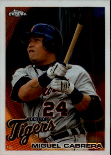 Photo of 2010 Topps Chrome #156 Miguel Cabrera