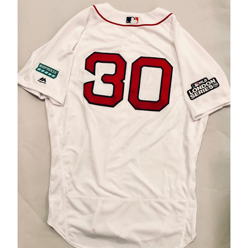 2019 London Series - Game-Used Jersey - Ron Roenicke, New York Yankees vs Boston Red Sox - 6/29/19
