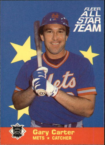 Photo of 1986 Fleer All-Stars #4 Gary Carter