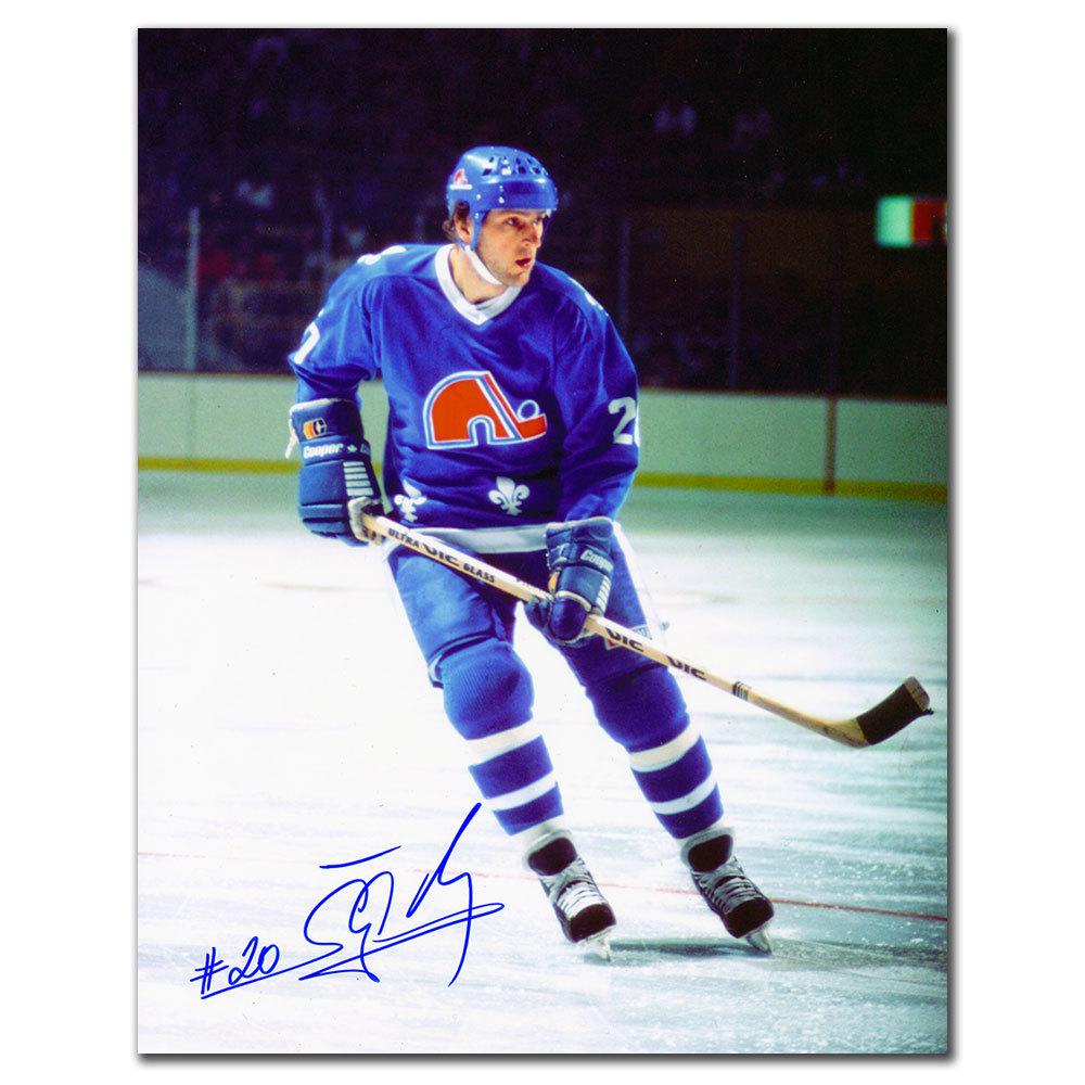 Anton Stastny Quebec Nordiques RUSH Autographed 8x10