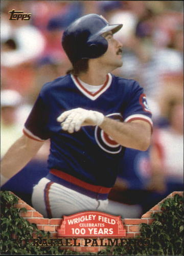 Photo of 2016 Topps 100 Years at Wrigley Field #WRIG33 Rafael Palmeiro