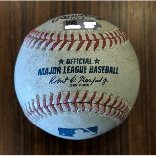 Photo of Dwight Smith Jr - RBI Double: Game-Used