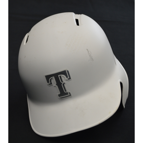 "Photo of Delino ""LIL BOP"" DeShields Texas Rangers Game-Used 2019 Players' Weekend Helmet"