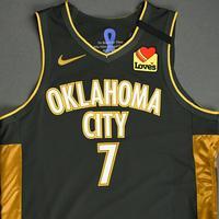 Darius Bazley - Oklahoma City Thunder - Game-Worn City Edition Jersey - 2019-20 Season