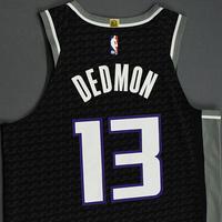 Dewayne Dedmon - Sacramento Kings - Game-Worn Statement Edition Jersey - NBA India Games - 2019-20 NBA Season