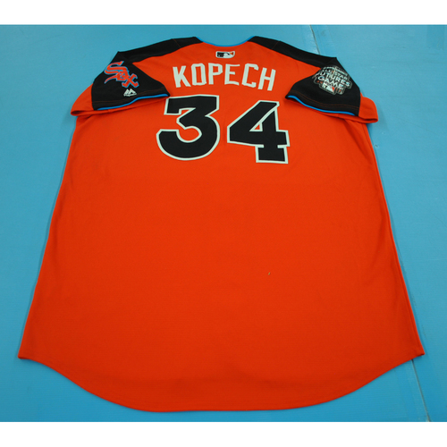 Photo of Game-Used Batting Practice Jersey - 2017 All-Star Futures Game - Michael Kopech - Size 48