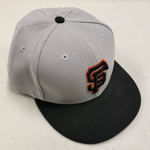 Photo of 2019 Team Issued Gray Batting Practice Cap - Size 7 3/4