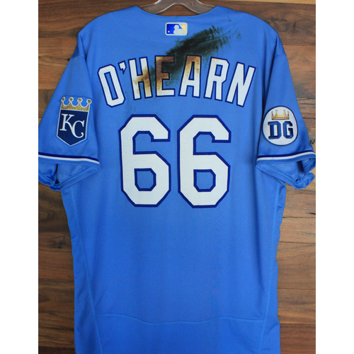 Photo of Alex's Lemonade Stand Foundation: Game-Used Ryan O'Hearn Jersey (Size 46 - 9/26/20 DET @ KC)