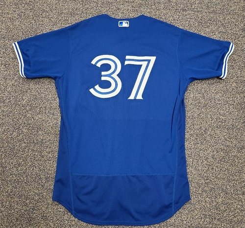 Photo of Authenticated Team Issued 2020 Spring Training Jersey: #37 Teoscar Hernandez. Size 46