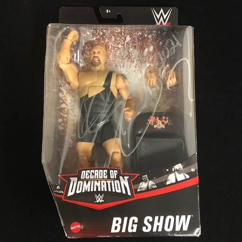 Photo of Big Show SIGNED Elite Decade of Domination Action Figure