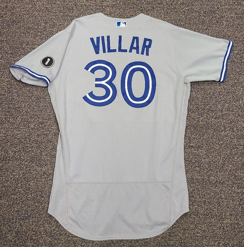 Photo of Authenticated Team Issued Jersey: #30 Jonathan Villar (2020 Season). Set 1. Size 46.