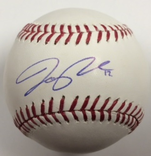 Photo of Joe Panik Autographed Baseball