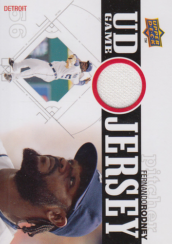 Photo of 2010 Upper Deck UD Game Jersey #FR Fernando Rodney
