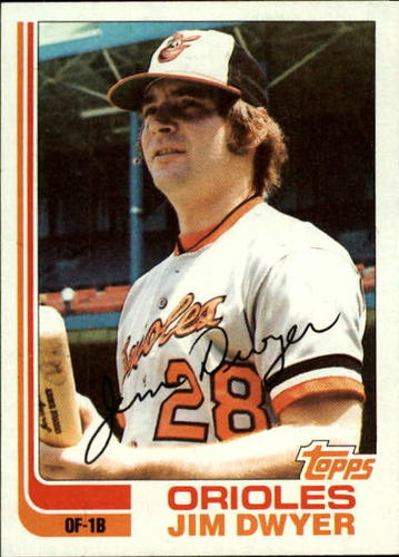 Photo of 1982 Topps #359 Jim Dwyer