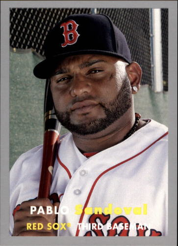 Photo of 2015 Topps Archives Silver #95 Pablo Sandoval
