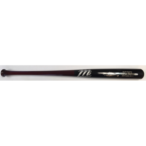 Photo of Adrian Beltre Autographed Marucci Game Model Bat