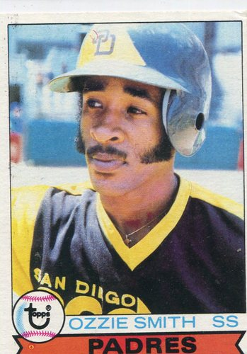 Photo of 1979 Topps #116 Ozzie Smith Rookie Card -- Hall of Fame Class of 2002