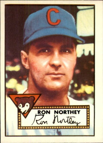 Photo of 1983 Topps 1952 Reprint #204 Ron Northey