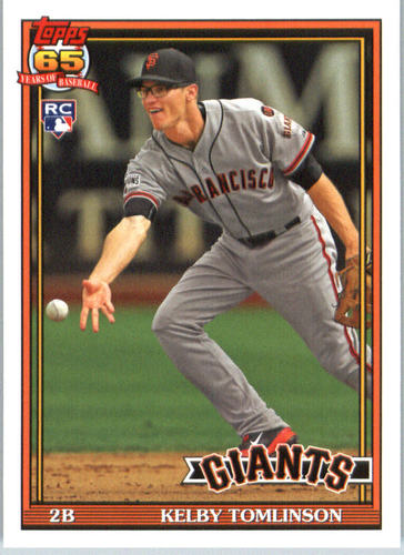 Photo of 2016 Topps Archives #219 Kelby Tomlinson RC