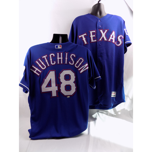 Photo of 8/5/18 - Game-Used Blue Jersey - Drew Hutchison
