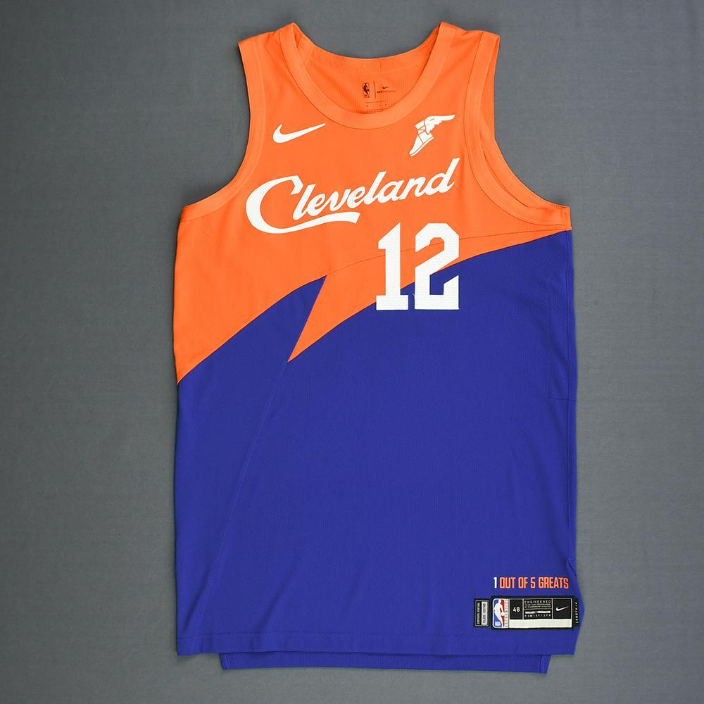 on sale 4830d ec9eb David Nwaba - Cleveland Cavaliers - Game-Worn City Edition ...