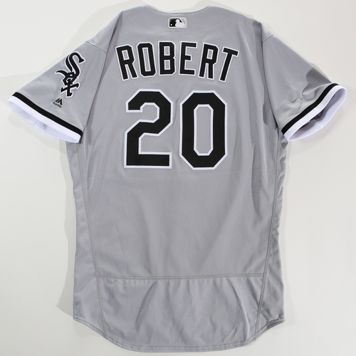 Photo of 2018 Arizona Fall League Game-Used Jersey - Luis Robert -Size 46