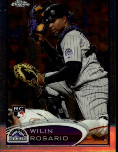 Photo of 2012 Topps Chrome #165 Wilin Rosario RC